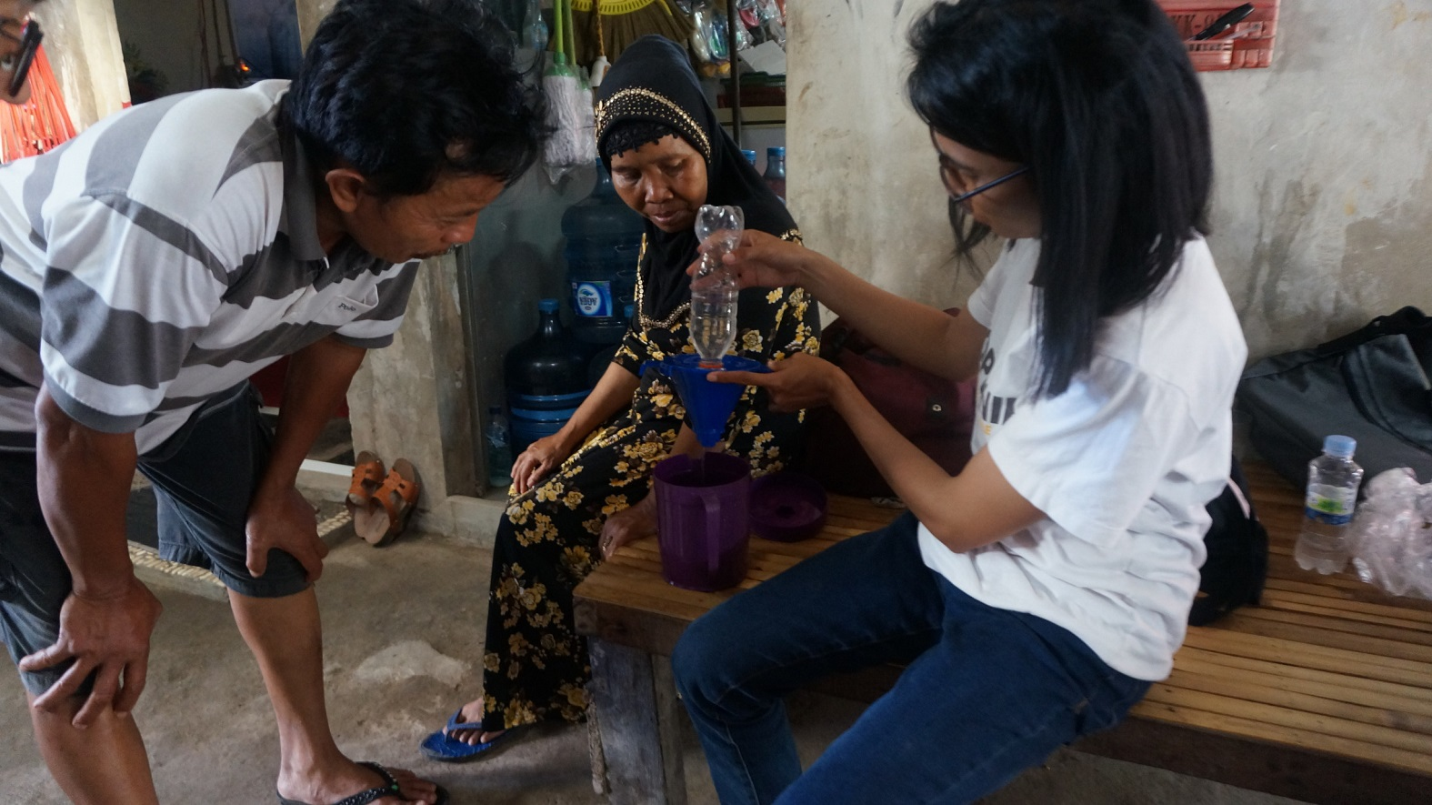 Testing the Waters for Affordable Water Filters in Indonesia