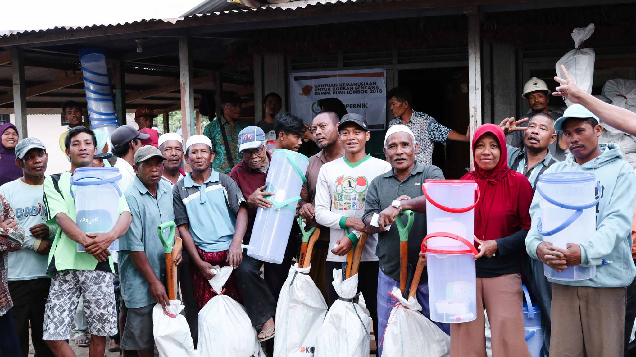 A Kopernik Thank You to All Supporters of the Lombok Emergency Response