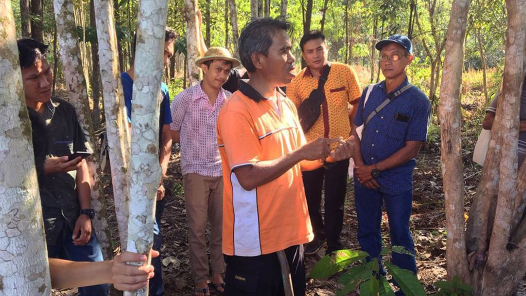 Supporting Farmers in Sustainable Cacao Production