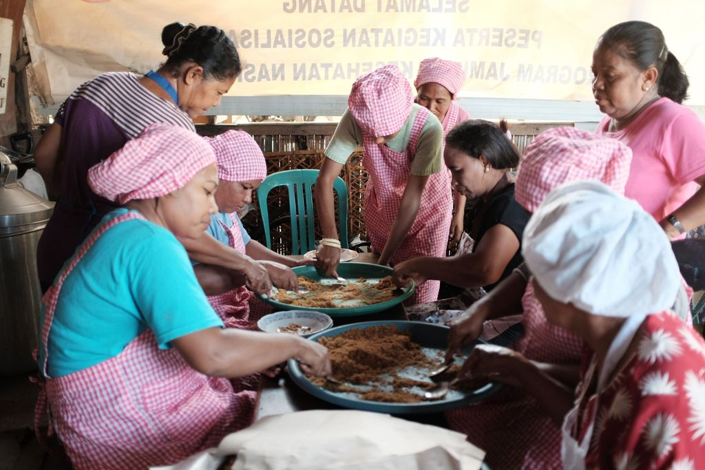 Supporting sustainable fish processing in East Flores