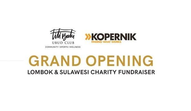 Kopernik Partners with Titi Batu Ubud Club to Support Sulawesi Earthquake & Tsunami Survivors