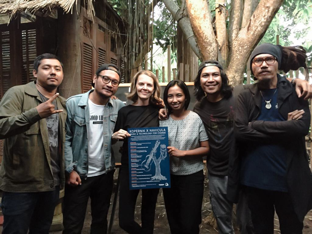 Kopernik x Navicula: Music and Technology for Change