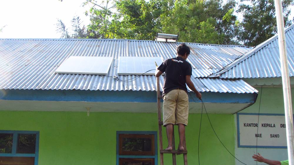 Providing Energy Access: Solévolt Off-Grid Solar System Phase One