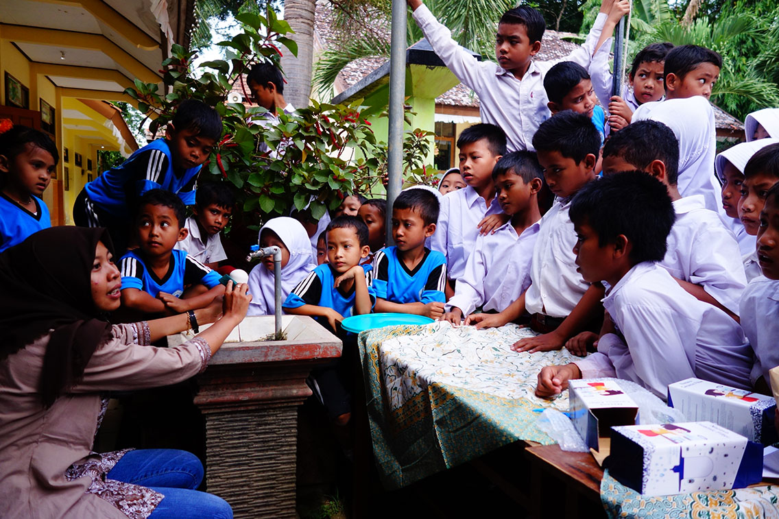Ensuring Access to Safe Drinking Water with JAL: Drink Up Indonesia Phase Two