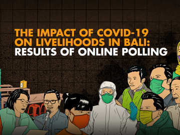 The Impact of COVID-19 on Livelihoods in Bali: Results on Online Polling